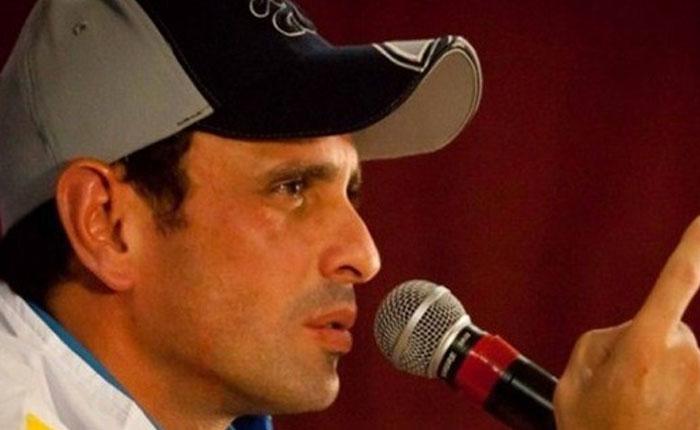 """Capriles pide a Mujica actuar para frenar """"opresión"""" en Venezuela"""