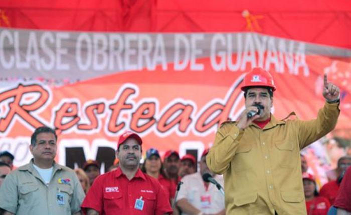 Los trabajadores de Guayana le hicieron el vacío por tanta ruina y atropellos por Damián Prat