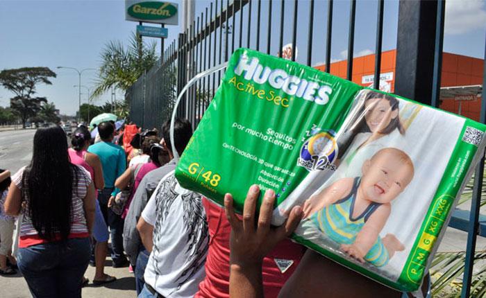 Resultado de imagen para pañales en venezuela