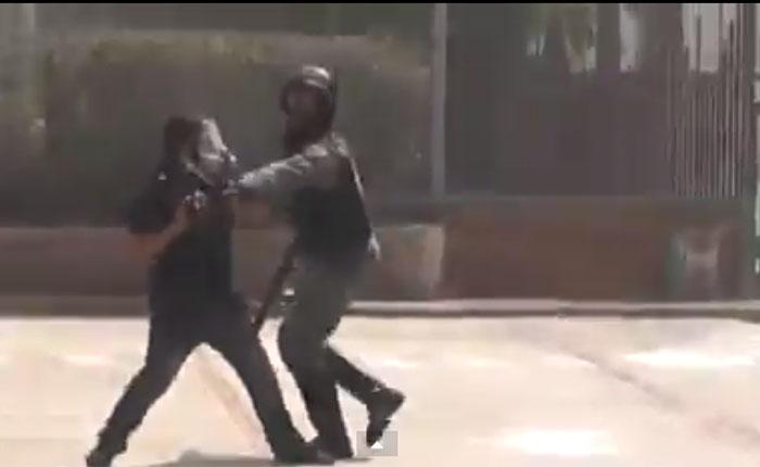 VIDEO: Así agredieron a camarógrafo de Televen en el estado Zulia
