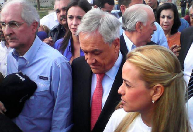 Piñera: Todos los demócratas debemos luchar por la libertad de Leopoldo López