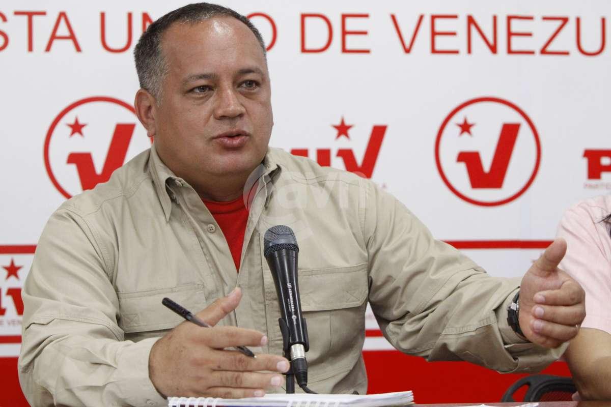 IPYS Venezuela: Diosdado Cabello volvió a intimidar a periodista y activistas de DDHH