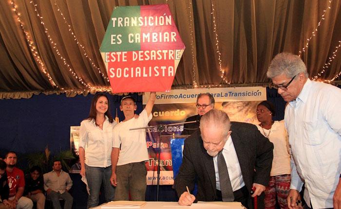 Sociedad civil respalda Acuerdo Nacional para la Transición