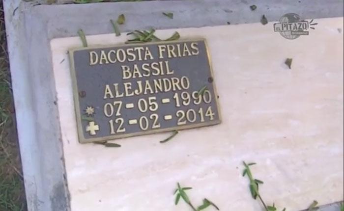 Madre de Bassil Da Costa no deja de llorar su muerte y de reclamar justicia
