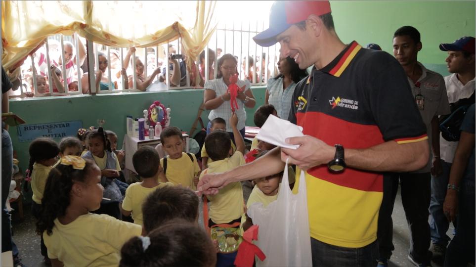 """Henrique Capriles: """"El trabajo de calle producirá el cambio en Venezuela"""""""