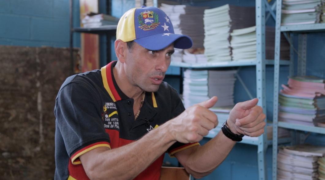 """Capriles: la """"verdadera invasión"""" a Venezuela es la escasez y la inflación"""