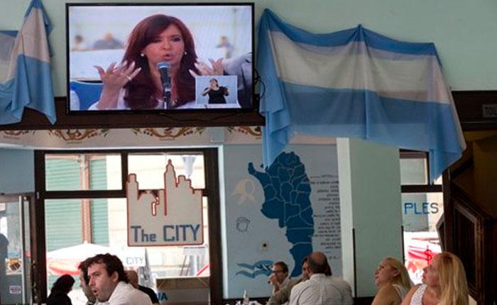 Cristina Fernández: denuncia de Nisman es una vergüenza