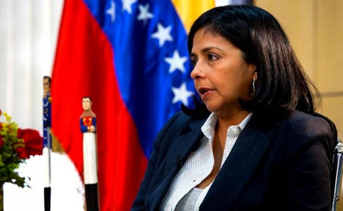 Delcy Rodríguez: No existe evidencia de supuesta violación del espacio aéreo de Colombia