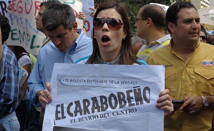 Periódico El Carabobeño lucha por su supervivencia: se les está agotando el inventario de papel