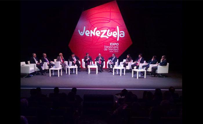"""La exposición chavista en Madrid: """"Venezuela de Verdad"""" en el teatro de los celestinos"""