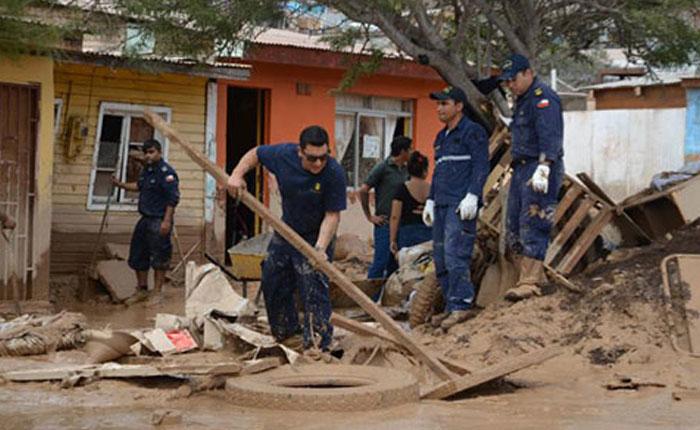 Sube a 18 la cifra de muertos por inundaciones en Chile