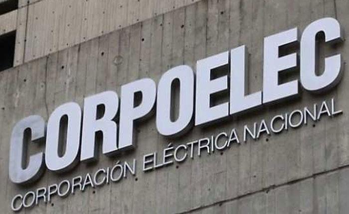 Corpoelec anunció suspensión de servicio en varios estados