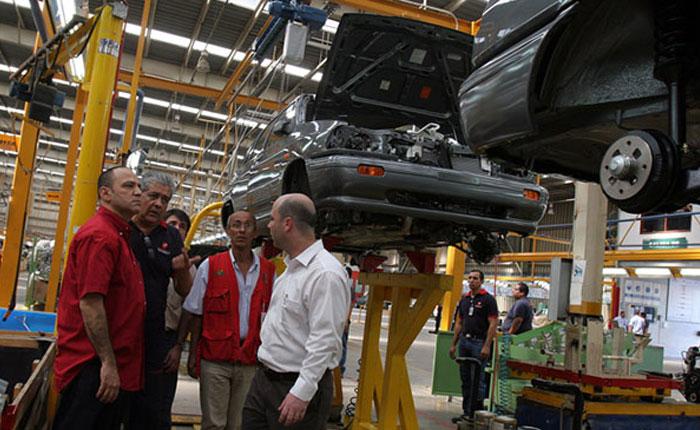 Venirauto produjo 1.844 autos y trabaja a 7% de su capacidad