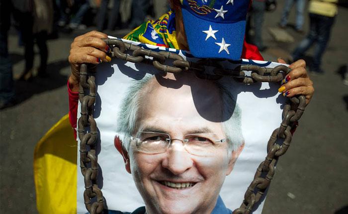 Socialistas del mundo piden la liberación de Ledezma