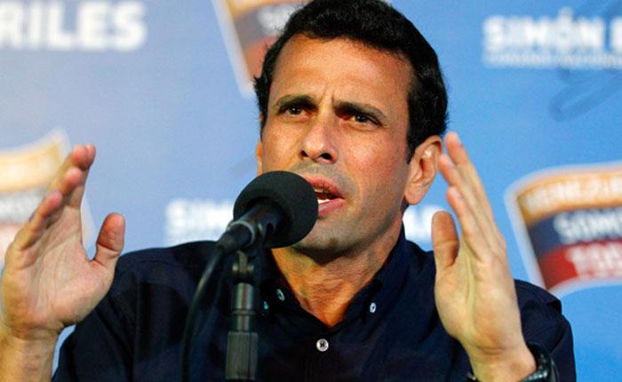 Capriles: Inflación en lo que va de 2015 está cerca del 50%