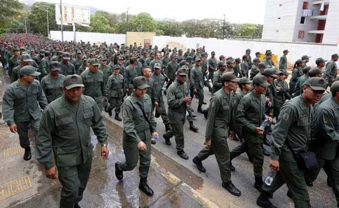 Control Ciudadano denuncia que ejercicios militares no cumplen la ley