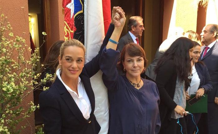 Bachelet descarta recibir a Lilian Tintori y Mitzi Capriles