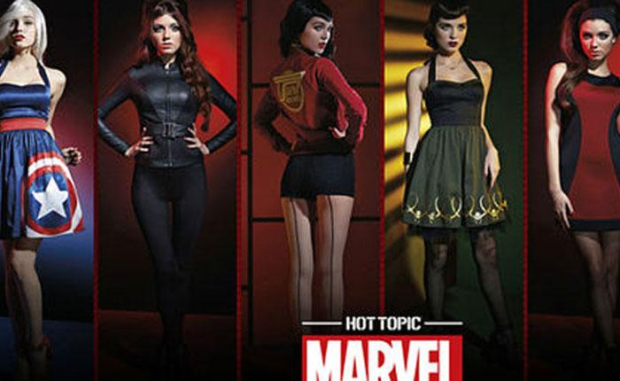 Marvel lanza línea de ropa para mujeres inspirada en Los Vengadores (Fotos)