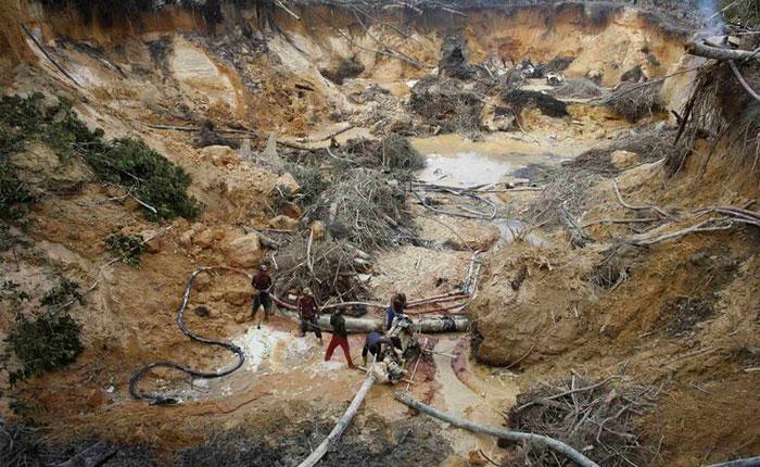 Ese documental de TV del caos minero en Venezuela por Damian Prat