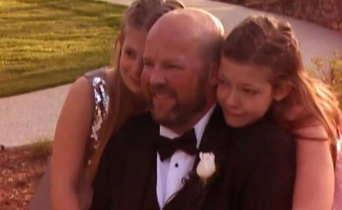Este fue el último deseo de un padre: Experimentar episodios en la vida de sus hijas que se perderá