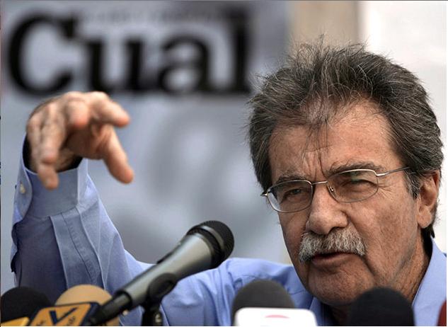 """Teodoro Petkoff: """"Los venezolanos no permitirán una dictadura"""""""