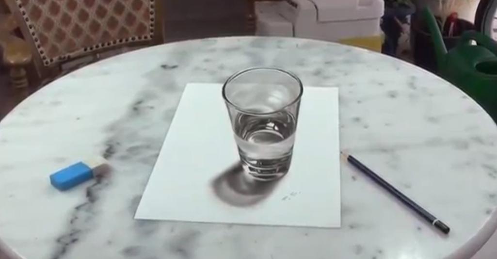 """Este """"vaso de agua"""" sorprenderá y confundirá tu mente"""