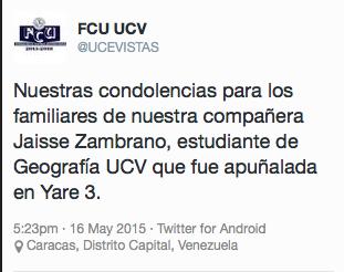 Asesinan de 15 puñaladas a estudiante de la UCV en Yare III - photo#28