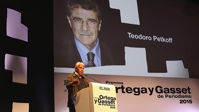 El País: Los Ortega y Gasset homenajean el coraje de la prensa libre