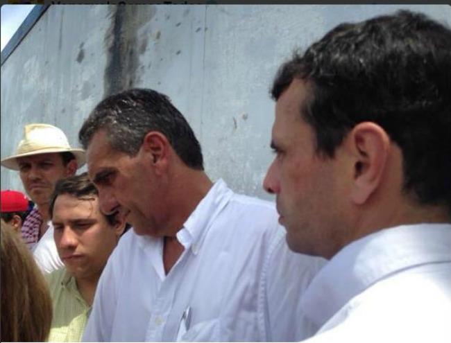 Evitan visita de Capriles y Scarano a Daniel Ceballos en penal de Guárico
