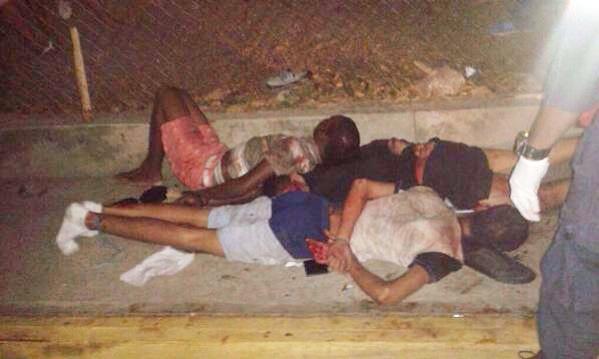 Así fue el intento de linchamiento de 4 hombres en Lomas del Ávila