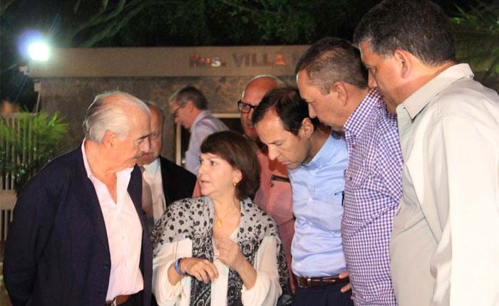 Expresidentes Pastrana y Quiroga lograron visitar al alcalde Ledezma