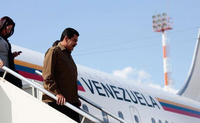 3 meses ha pasado Maduro fuera de Venezuela en 2 años de mandato