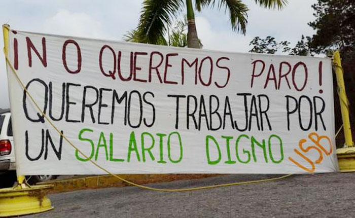 """Los maestros protestaron y se hicieron sentir Maduro, """"a regañadientes"""", tuvo que hacer algo por Damián Prat"""
