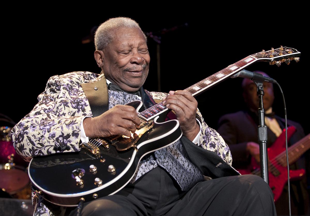 Muere B.B. King, el rey de la guitarra y del blues moderno