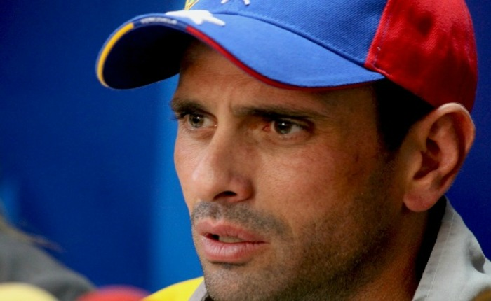 Capriles desconoce si irá o no a la marcha convocada por López