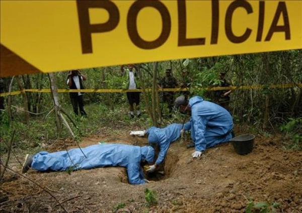 Encuentran fosa común en la frontera entre Venezuela y Colombia