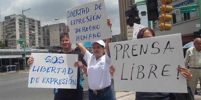 libertad de expresión prensa  espacio publico abril