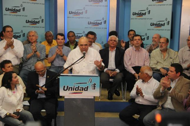 La MUD no apoya la convocatoria de López pautada para este sábado