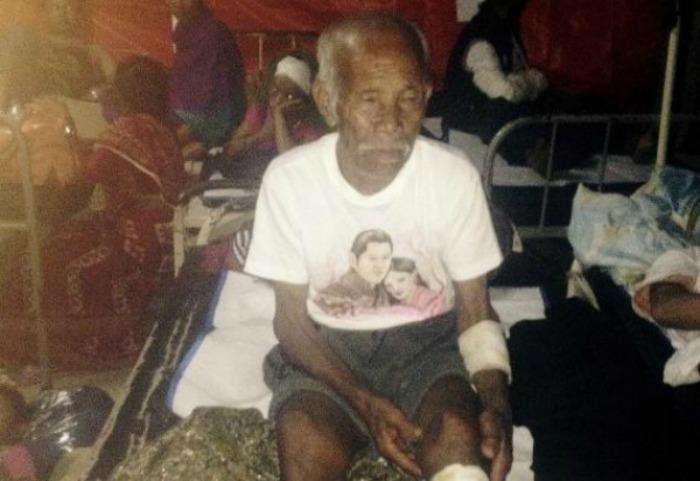 Nepalí de 100 años es rescatado con vida una semana después del terremoto