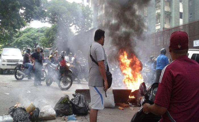 Tres protestas simultáneas contra la inseguridad se registraron en Caracas