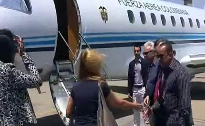 """Santos le respondió a Maduro: """"Felipe González ha sido un amigo incondicional de Colombia"""""""