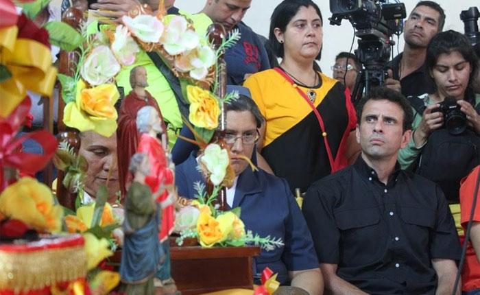 """Capriles: """"Las manifestaciones culturales son para el encuentro de todo el pueblo"""""""