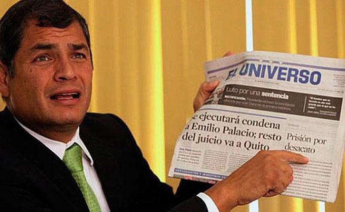 """Ecuador tiene """"la peor ley mordaza de América"""", según el SIP"""
