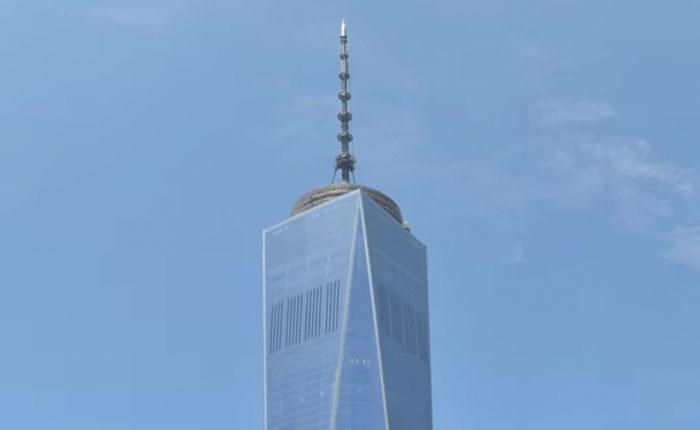Así fue la construcción del One World Trade Center, 11 años resumidos en dos minutos