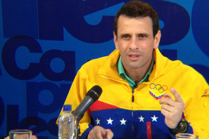 """""""El voto premia o castiga"""": Capriles pide a venezolanos dar """"una lección"""" al Gobierno"""