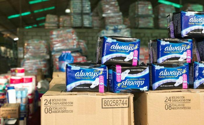 Sundde actuará contra establecimientos que vendan toallas sanitarias a Bs 1.300