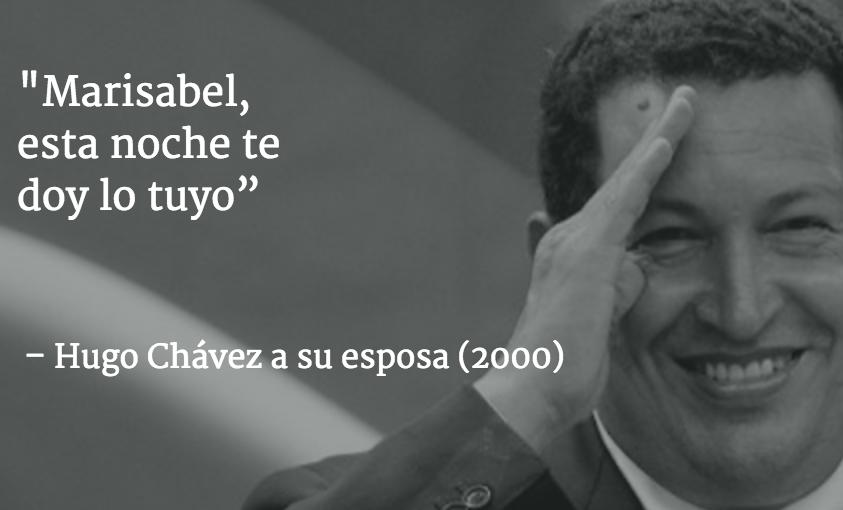 10 frases por las que quieres olvidar a Chávez
