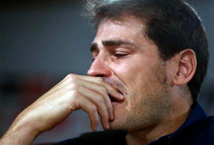 Emotiva despedida de Casillas del Real Madrid
