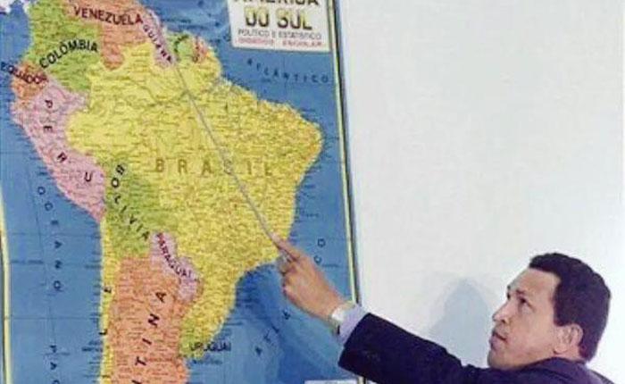 Chávez, Maduro y el Esequibo por Sadio Garavini Di Turno