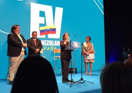 """Mitzy de Ledezma: """"La libertad de prensa es y debe ser un derecho ineludible, fundamental para la democracia"""""""